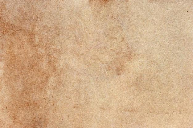 오래 된 갈색 종이 그런 지 벽.