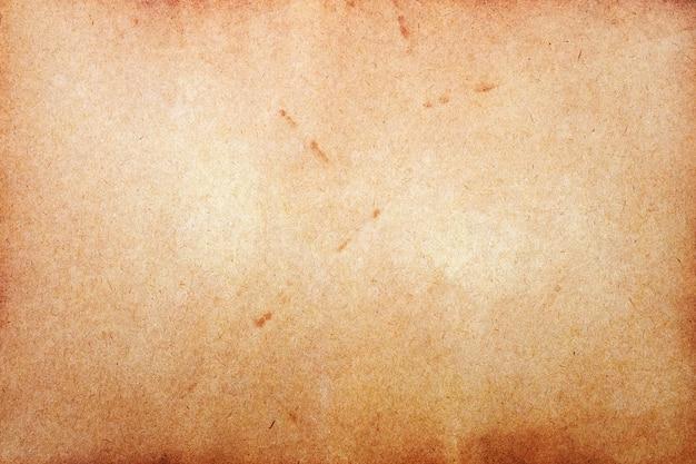 Старая поверхность коричневой бумаги. абстрактная текстура гранж.