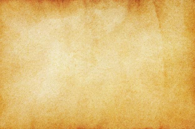 Старая текстура коричневой бумаги для поверхности.
