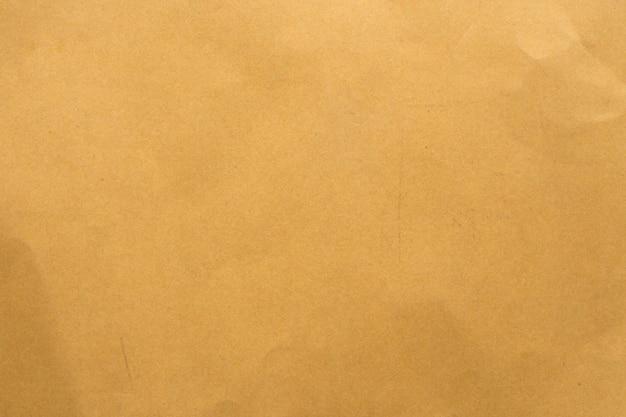 古い茶色のリサイクル段ボール紙のテクスチャ背景