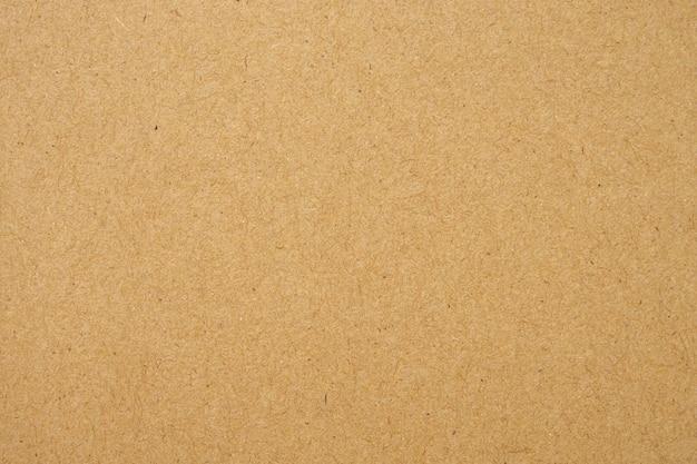 古い茶色のリサイクルエコ紙テクスチャ段ボールの背景