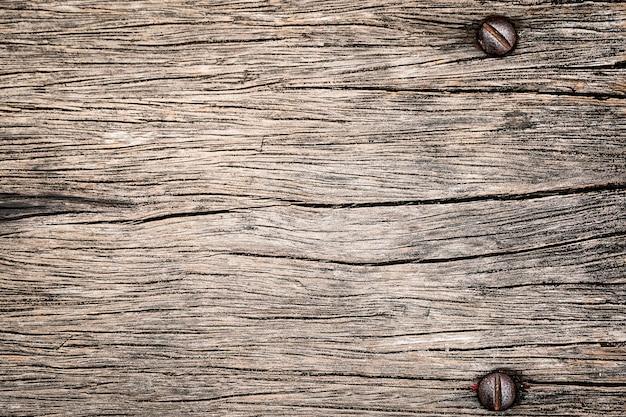 오래 된 갈색 소박한 나무 질감 나무 배경 헛간 또는 오래 된 집에서 오래 된 세 목재