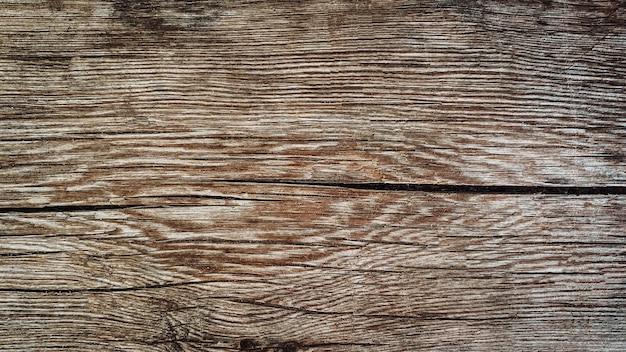 グランジスタイルの釘と自然な垂直板で作られた古い茶色の木製の背景。上面図。針葉樹の生の鉋の質感。フラットレイを撮影するためのテーブルの表面。スペースをコピーします。