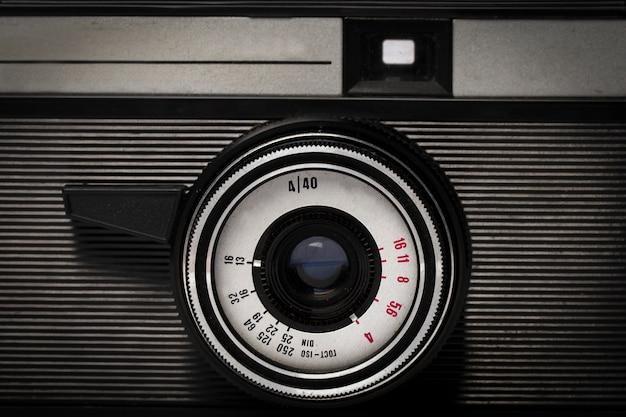 오래 된 카메라 배경 프리미엄 사진