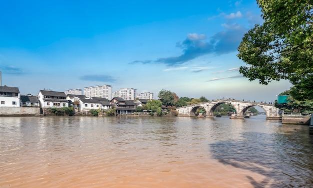 杭州の古い運河橋