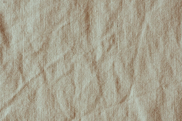 Old canvas crumpled texture background