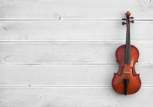 Old cello isolated on white background