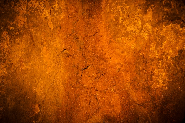 Old cement wall vignette background and black