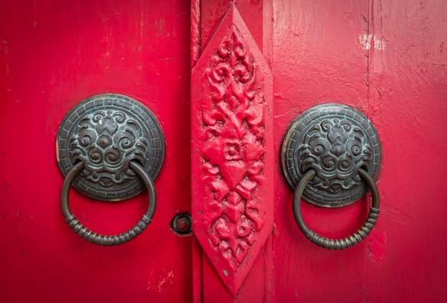古い中国の扉