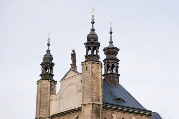 Old church in the czech republic. kutna gora