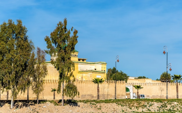 The old city walls of fes - morocco