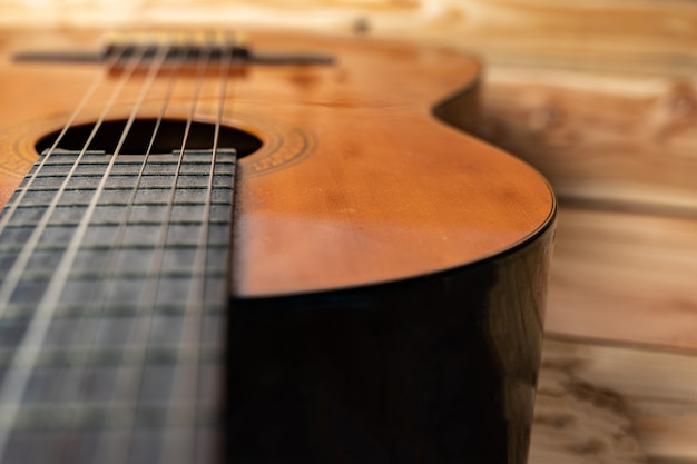 Old classical guitar