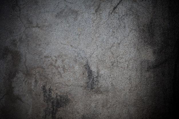地衣類の背景を持つ古いコンクリートの壁