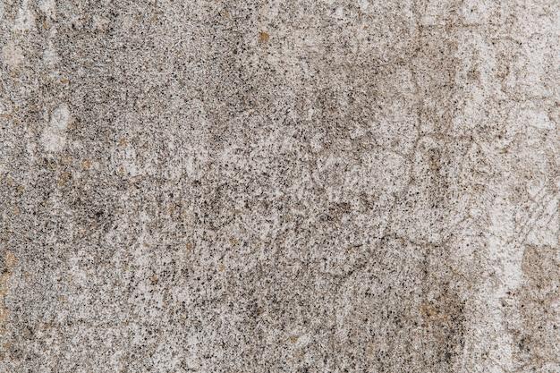 이끼와 파괴가 있는 오래된 콘크리트 벽