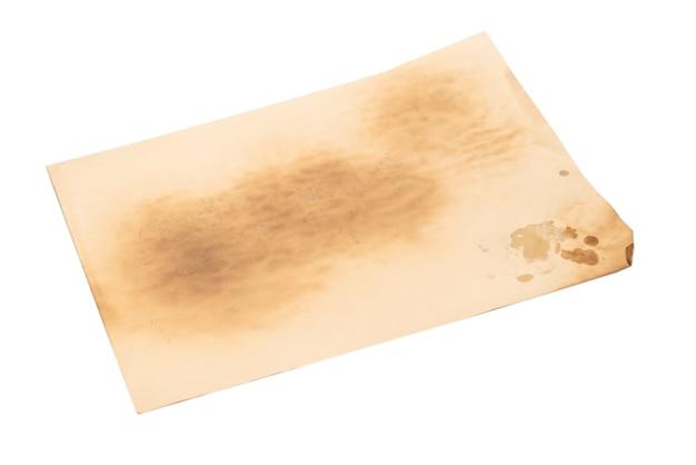 Старая мятой бежевая бумага