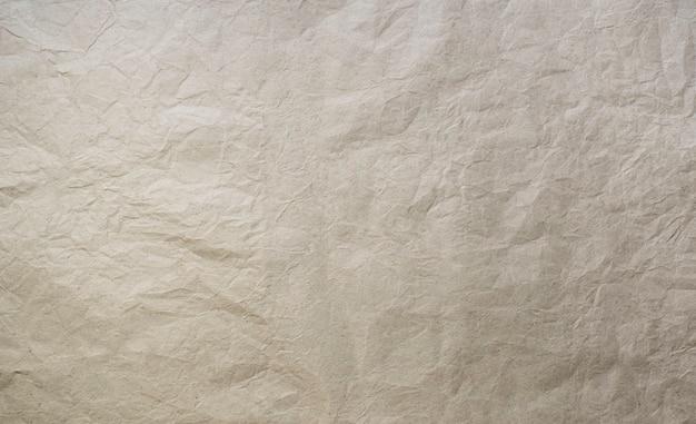 Текстура старой мятой коричневой бумаги