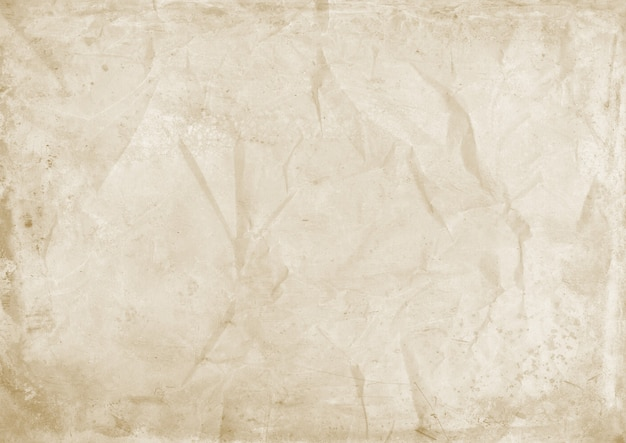 Old crumpled paper texture background. vintage wallpaper