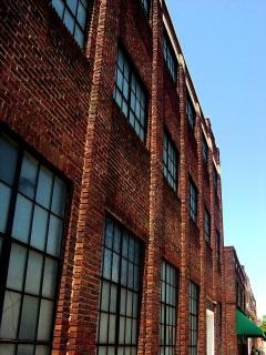 Old downtown warehouse