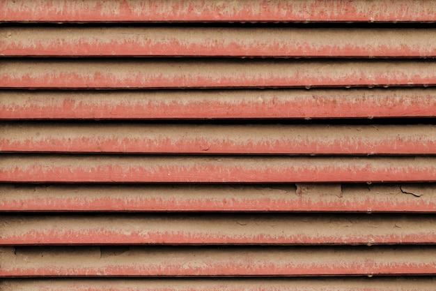 Старый пыльный жалюзи металлическая текстура фон