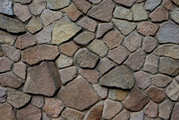 Old dynamic rock pattern texture, wall background