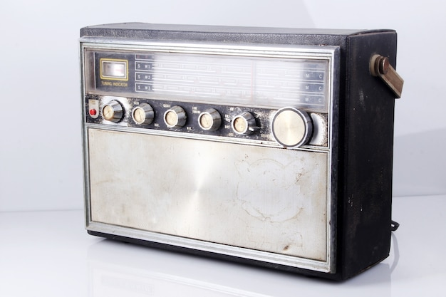 An old electric radio