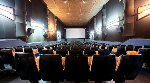 Old empty movie theater