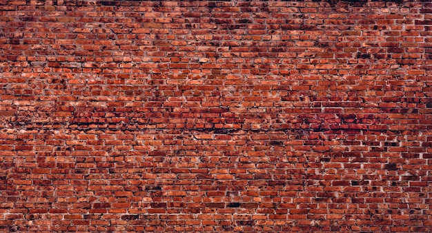 Old factory brick wall texture. vintage architectural background