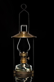 Old fashioned gaslight