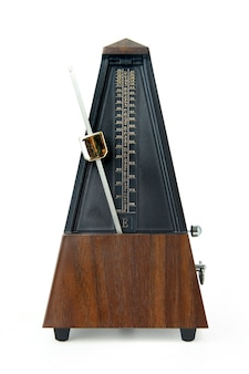 Old-fashioned metronome