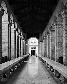 이탈리아 리미니의 옛 수산시장