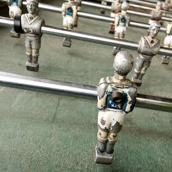 Old foozball