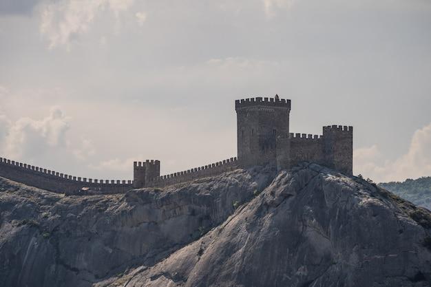 古代都市の古い要塞。