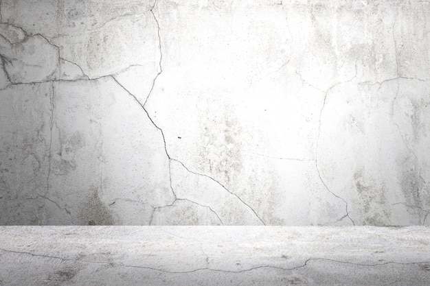 Old gray cement wall and floor background