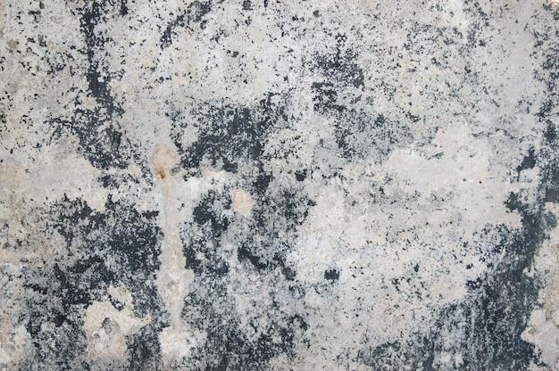 き裂を有する古い灰色のコンクリート背景。写真の背景。