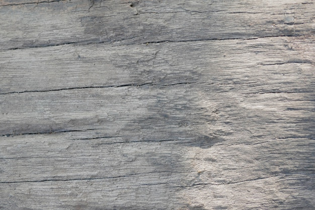 Old gray wooden table background and texture