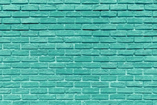 古い緑のレンガの壁のインテリアデザイン