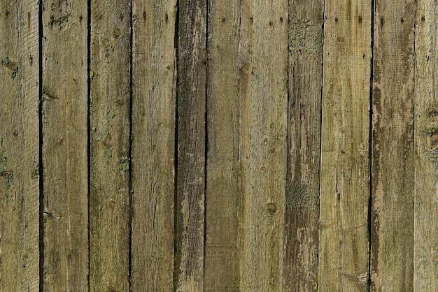 오래 된 녹색 나무 질감 배경입니다. 수평 배열.