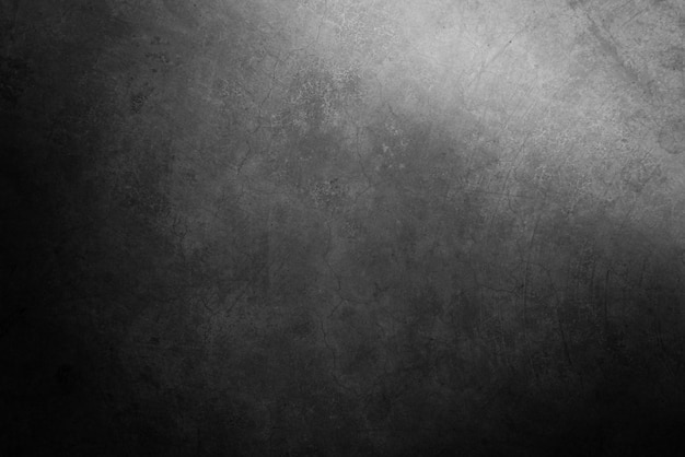 Old grunge black cement wall texture background