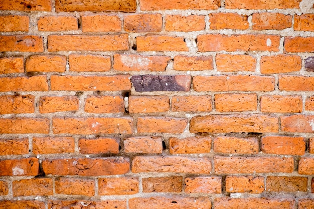 Old grunge brick wall texture and background