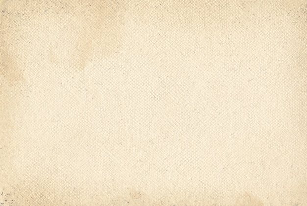 古いグランジ キャンバス紙のテクスチャ