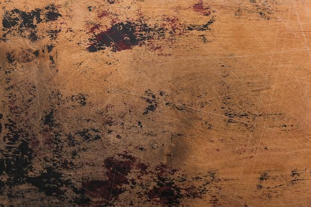 Старый гранж почесал деревянную фоновую текстуру коричневого цвета