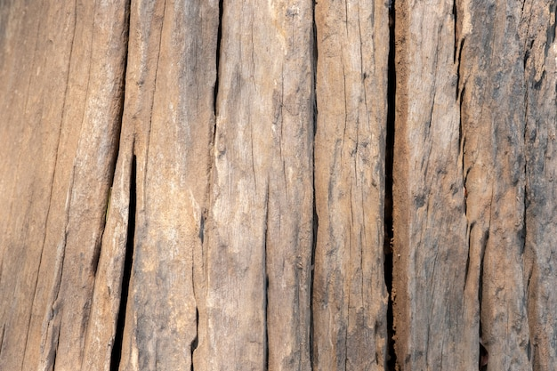 Old grunge wood crack floor texture background