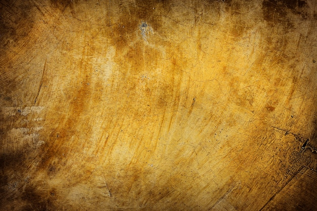 Old grunge yellow wall background