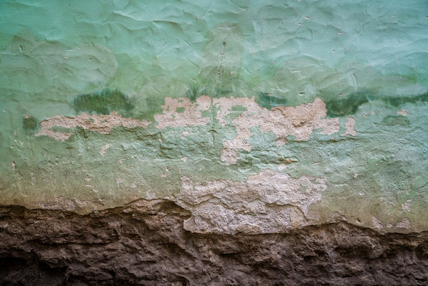 エストニア、タリンの古いgrungedの壁
