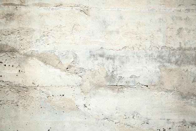 古い汚れた質感、灰色のコンクリートの壁
