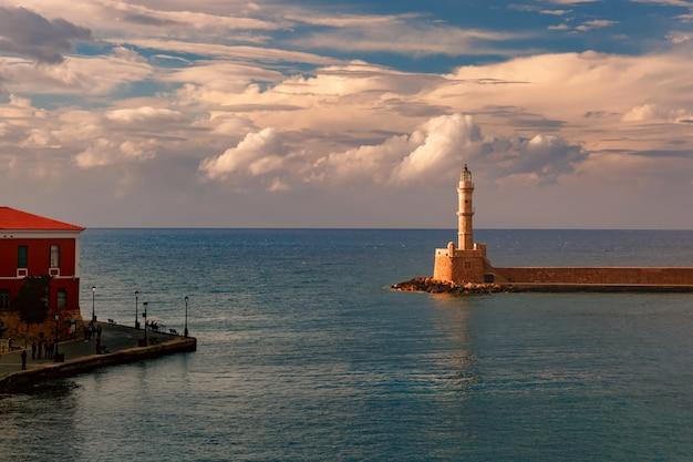 오래 된 항구, chania, 크레타, 그리스