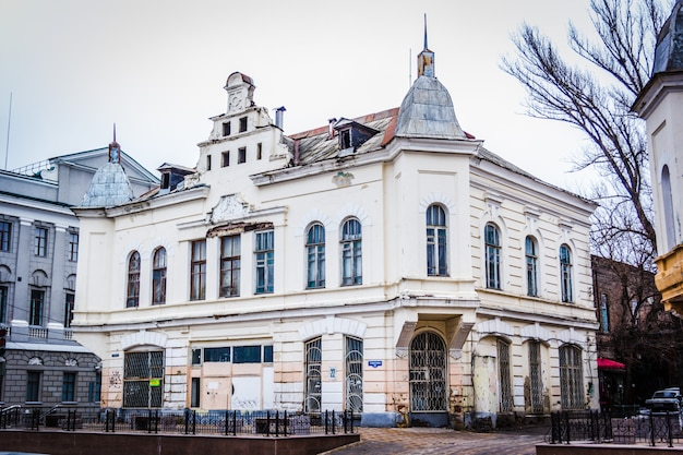 Old house in the center of the city. rostov-on-don