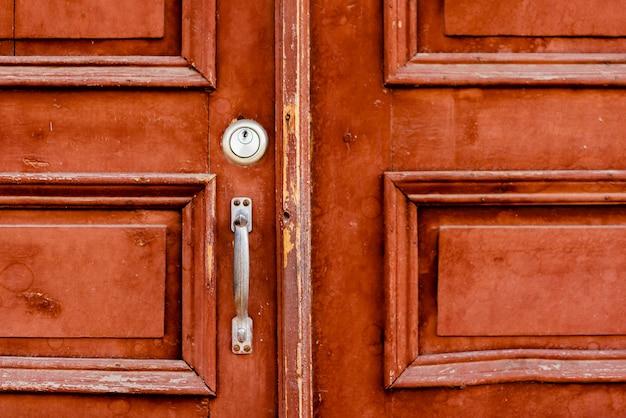 Old house door