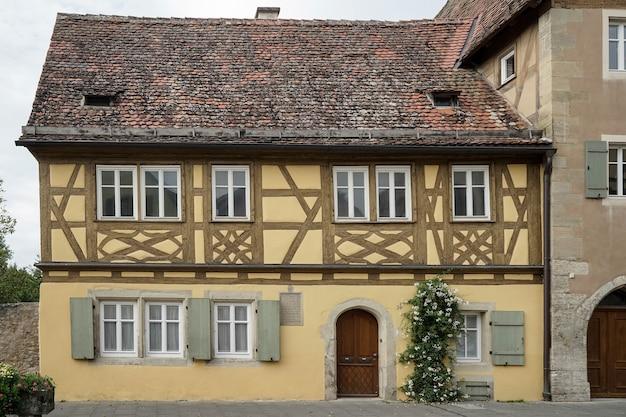 Старый дом в ротенбурге