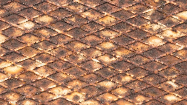 Old iron texture for vintage background steampunk
